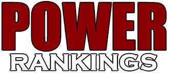 Power rankings Week #17