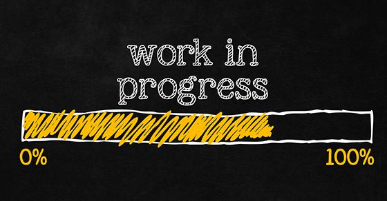 "Project rebuild – ""Work in Progress"""