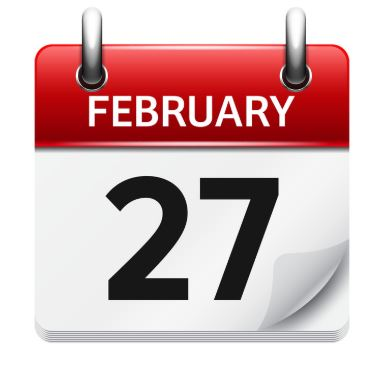 Back in Time: Feb 27th